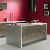 Sorrento – High Gloss Zebrano & Black